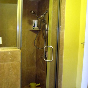 Frameless Shower Door After