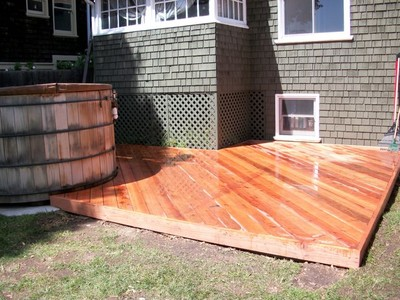 After Photo of Backyard Deck